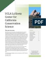 La Kretz 2017 Annual Report