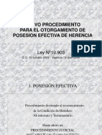 PPT posesión efectiva