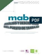 ANALISIS Y DESCRIPCION DE PUESTO DE TRABAJO