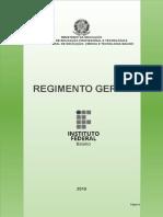 Regimento Geral Do if Baiano Final 2019