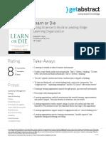 Learn or Die Hess en 23264