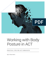 eBook Working With Body Posture in ACT - Russ Harris - ImLearningACT.com