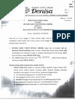 6.7 Perjanjian Kerjasam Pt. Azken