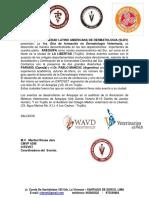 1ra. Gira de Formación en Dermatología Veterinaria Internacional 2016