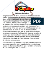Release Trio Forró Copaíba