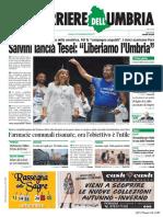 Rassegna stampa dell'Umbria 7 settembre 2019 UjTV News24 LIVE