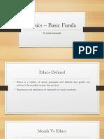 Ethics Funda
