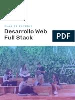 Programa Desarrollo Web Full Stack Acamica