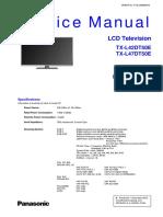 Panasonic TX-l42dt50e TX-l47dt50e Chassis La35