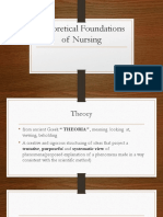 Theoretical Foundations of Nursing Prelims