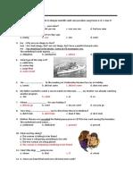 Soal Bahasa Inggris Maritim Kelas x