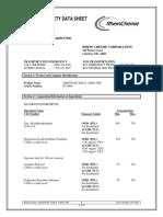Rhein Chemie Additin RC 9200N MSDS