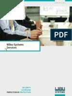 Wibu Systems Service Brochure