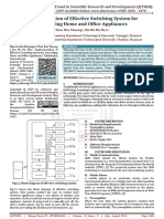 Implementation of Effective Switching System for Controlling Home and Office Appliances