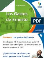 5 Los Gastos de Ernesto - Fichas Con Muchas Preguntas