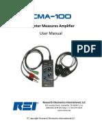 CMA Manual Rev I