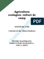 Agricultura Ecologica - Culturi de Camp - NOTITE de CURS.doc Pentru Studenti 2018