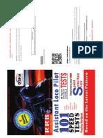 Indian Railways Assistant Loco Pilot Print