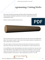 Dynamic Programming_ Cutting Sticks - Tiago - Medium