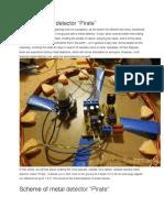Impulse Metal Detector