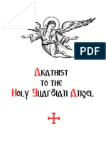 Akathist to the Holy Guardian Angel