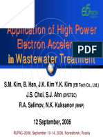 Application of High Power  in Water Treatment