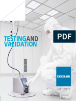 Testing and Validation e Catalogue