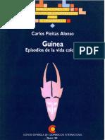 FLEITAS ALONSO. Guinea episodios de la vida colonial