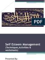Self Esteem Ppt