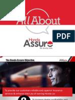 Benefit of Honda Assure