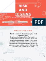 Risk and Testing