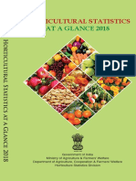 Horticulture Statistics at a Glance-2018