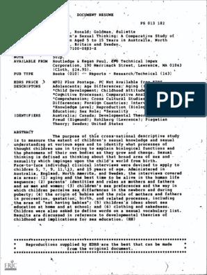 ED224562.pdf | ual Intercourse | Gender on