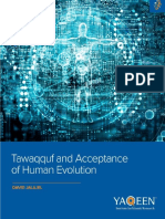 Tawaqquf and Muslim Acceptance of Evolution