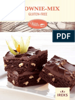 Glutenfrei BrownieMix P 375170