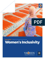 Women's Inclusivity in Mosques