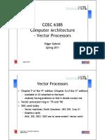 CA 13 VectorProcessors