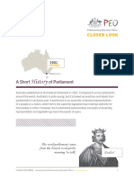 CloserLook Short History of Parliament