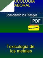 toxicologia de los metales pesados