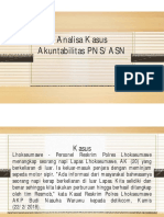 Analisa Kasus Akuntabilitas PNS