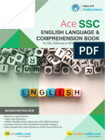 ACE SSC English Language Book Index