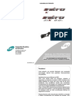 Manual Carabina de Pressão Nitro X e Nitro Six