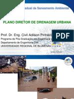 Plano diretor de drenagem urbana