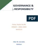 Good Governance & Social Responsibility
