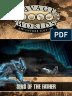 Savage Worlds Adventure Edition JumpStart - Sins of the Father
