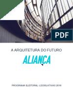 Programa Final - Legislativas 2019 - Aliança