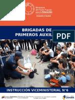 BRIGADAS DE PRIMEROS AUXILIOS