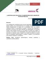 LA METODOLOGÍA CUALITATIVA Y SU IMPORTANCIA EN EL ANÁLISIS DE POLÍTICAS PÚBLICAS..pdf