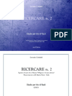 Ricercare n. 2 for Flute Trio