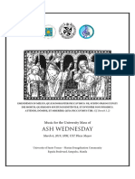 Ash Wednesday FINAL